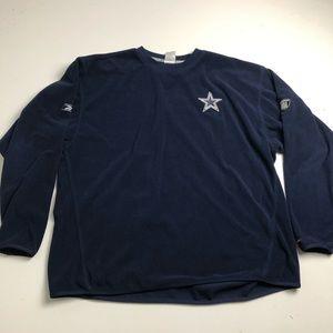 NFL Dallas Cowboys Reebok Fleece Sweater